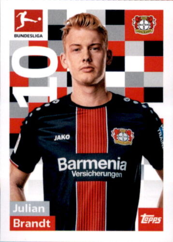 TOPPS Bundesliga 2018//2019 Sticker 165 Julian Brandt