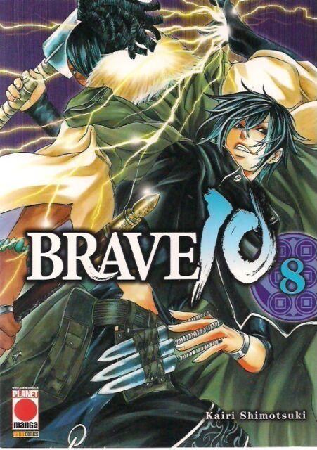 BRAVE 10 VOLUME 8 EDIZIONE PLANET MANGA