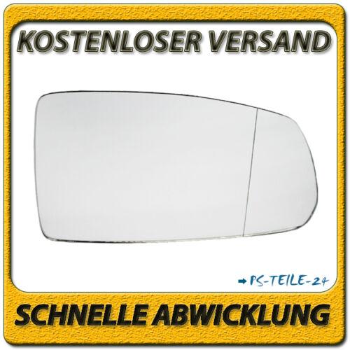 Vidrio pulido para Kia Rio II 2005-05//2011 derecha lado del copiloto asphärisch