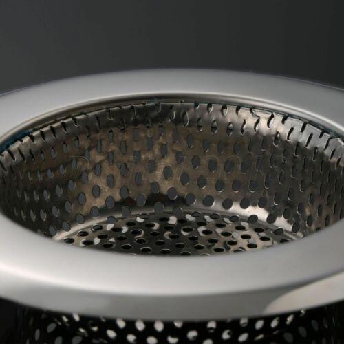 Kitchen Sink Strainer Mesh Disposer Basin Drainer Filter Net Steel Replacement