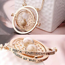 Harry Potter Inspired Replica Necklace Hermione Rotating Time Turner Necklace US