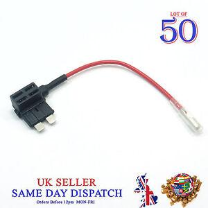 50x-ajouter-un-circuit-Piggy-Back-Fuse-Tap-Standard-Blade-Holder-ATP-ATM-12-V-voiture-bateau