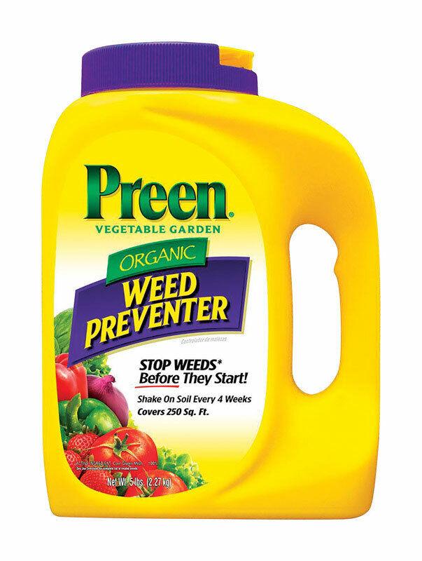 Preen  Organic Garden Weed Preventer  Granules  5 lb.
