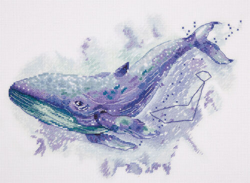 """/""""The Whale Constellation/"""" Counted Cross Stitch Kit PANNA MT-1961"""