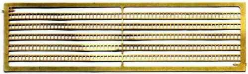 10 Messing Leitern A32 Unlackiert n Spur Maßstab Langley Models Set 1//148