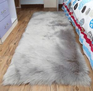 New Faux Fur Sheepskin Rug Balcony