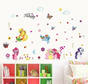 Image Is Loading 30 60cm My Little Pony Wall Stickers Ponies