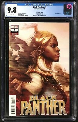 Marvel BLACK PANTHER #1 Artgerm Variant NM//M
