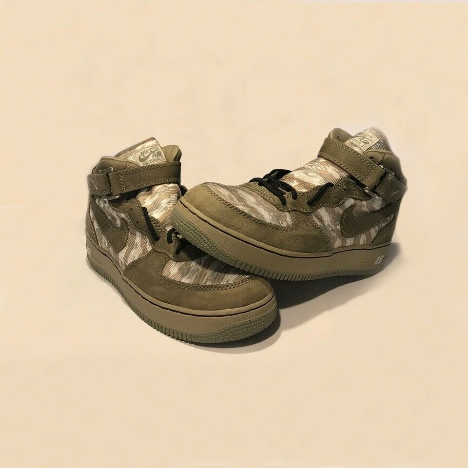 NIKE EPIC 1-ID RECON AIR FORCE 1 MID-TOPS  Uomo 12US