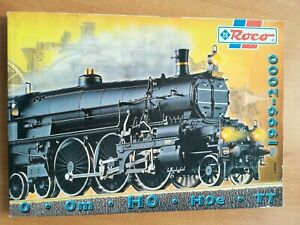 HOe # ROCO Modelleisenbahn Katalog 1998//99 Spur HO TT