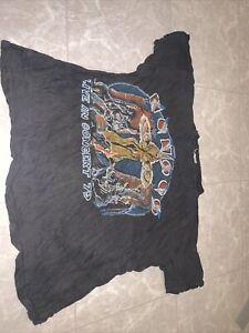 Vintage 1979 Kansas Concert Tour 70s T Shirt Double Sided Classic Rock