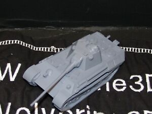 Flames Of War German Panther Schmalturm 75mm/88mm 1/100 15mm FREE SHIPPING