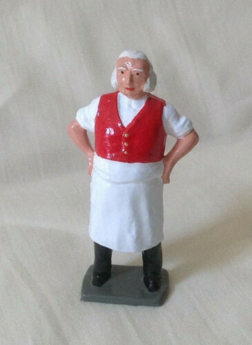 54mm train layout figure Reproduction Johillco Innkeeper or Tavernkeeper