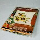 Vintage 1975 Paragon Needlecraft Embroidery Sunflower Pillow Kit #0362