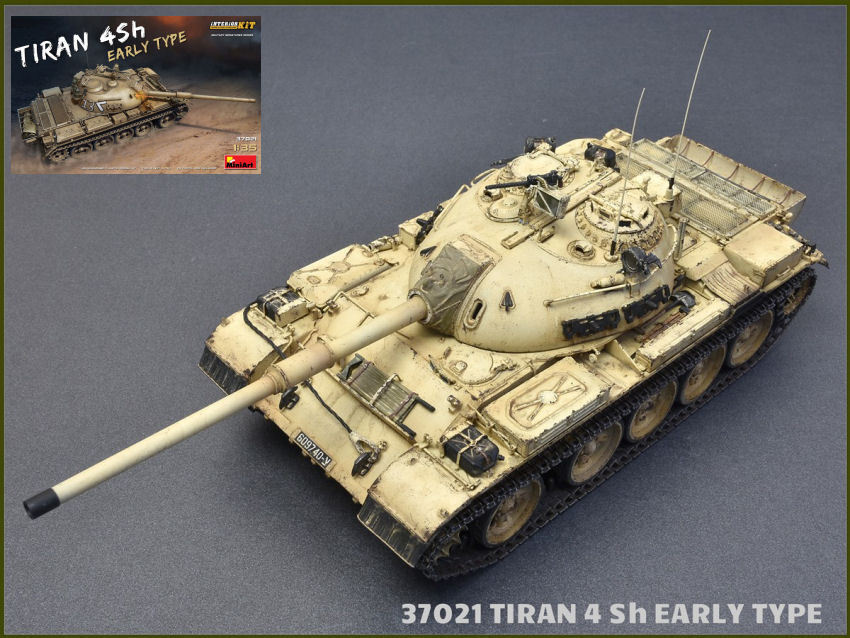 Tiran 4 sh early type  tank plastic model kit 1 35 miniart  prix raisonnable