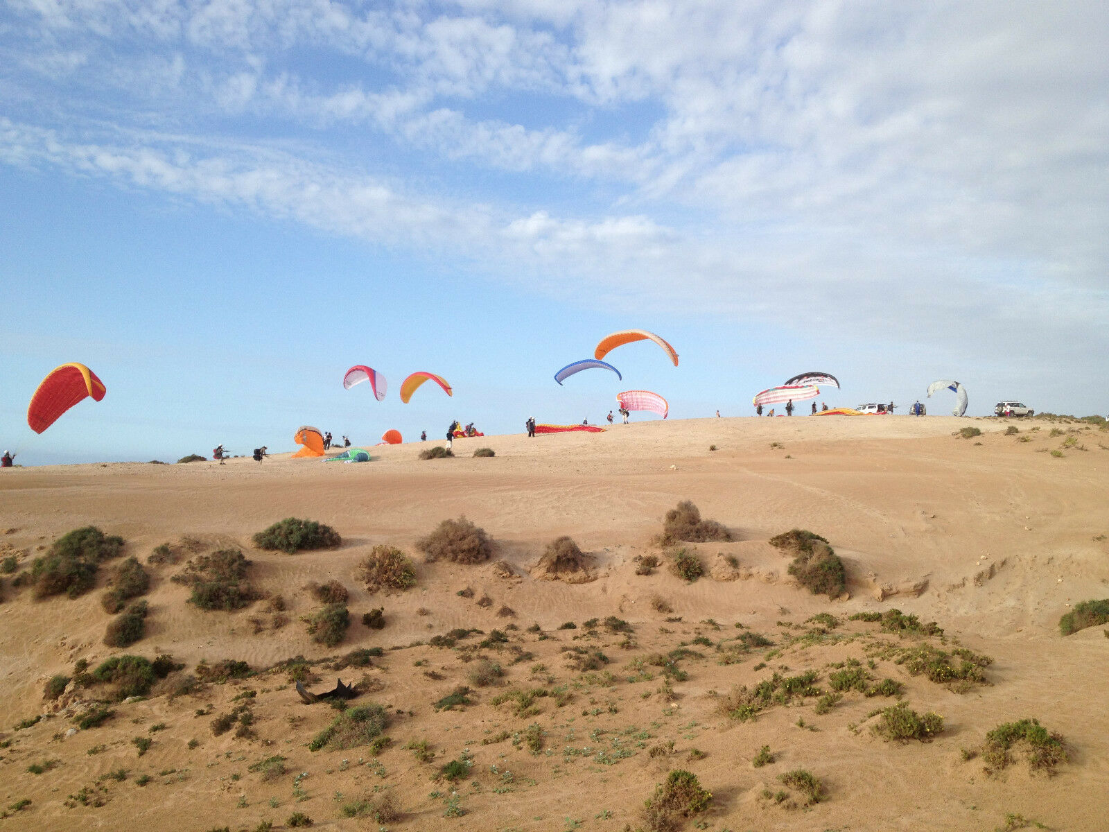 2 WEEK EP&CP INTENSIVE BEGINNERS PARAGLIDING COURSE IN MgoldCCO. WITH BHPA SCHOOL