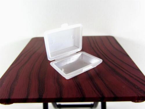 Dollhouse Miniature 4 x plastic meal box