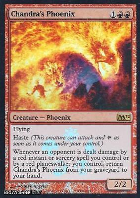 4x FOIL PROMO Chandra/'s Phoenix MTG 2012 M12 *126 NM//Unplay English Rare R X4