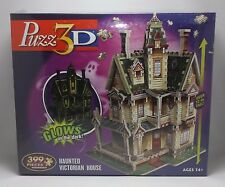 Puzz3D 3D Puzzle Haunted Victorian House 399 Pieces Glows in Dark