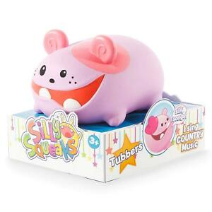 Silly-Squeaks-Series-1-Tubbers-Musical-Pet-Toy-Will-Need-New-Batteries