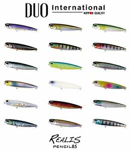 DUO-Realis-Pencil-85-Topwater-Lure-Select-Color-s