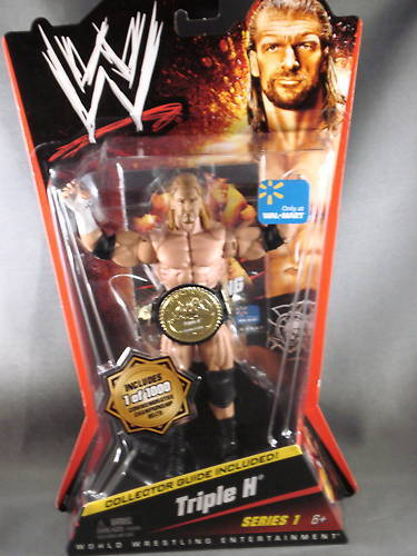 2010 WWE Triple H Series 1 only at Walmart