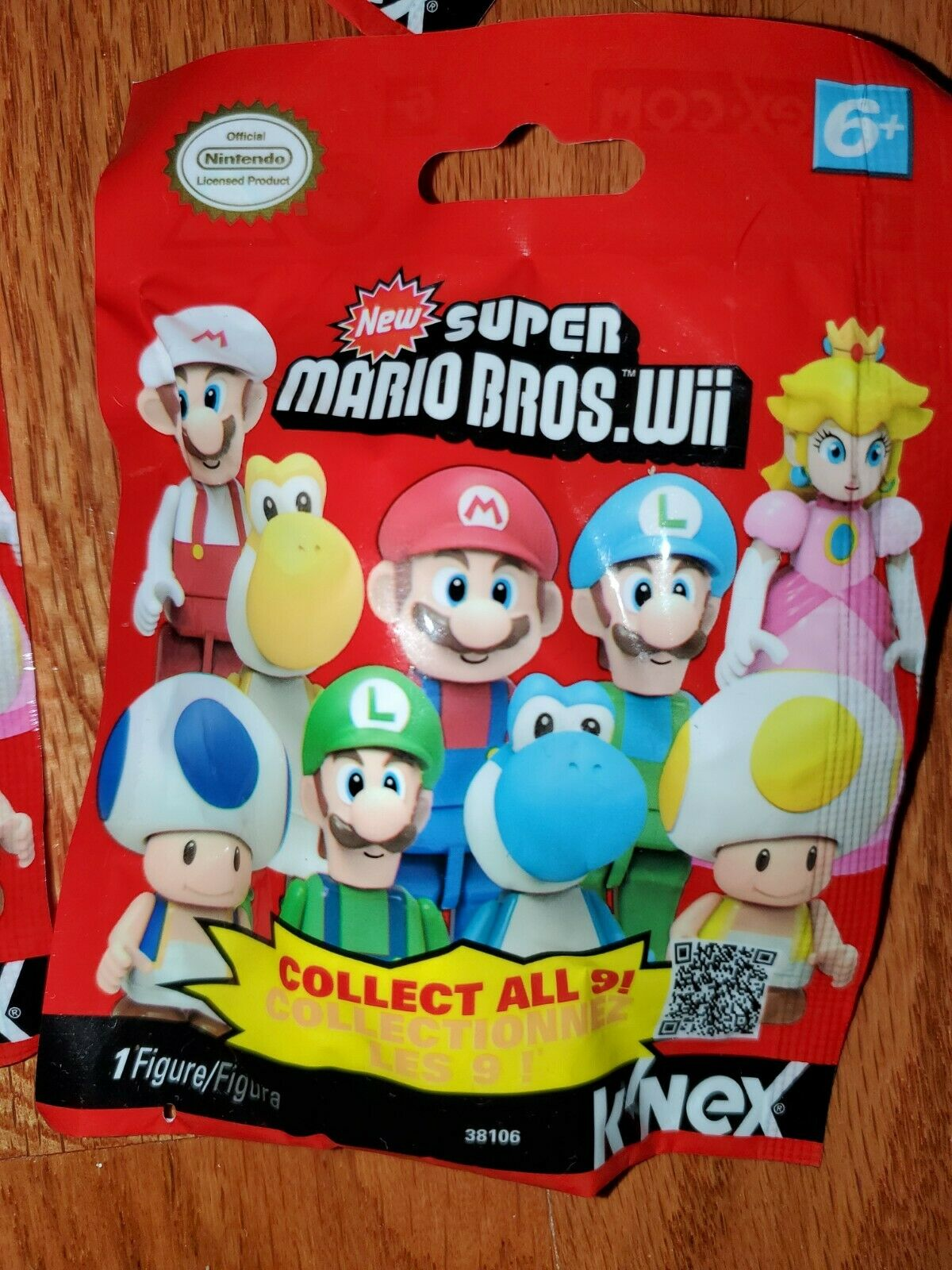 24 Stk Display K/'nex Super Mario Serie 10 Mystery Blindbag  incl