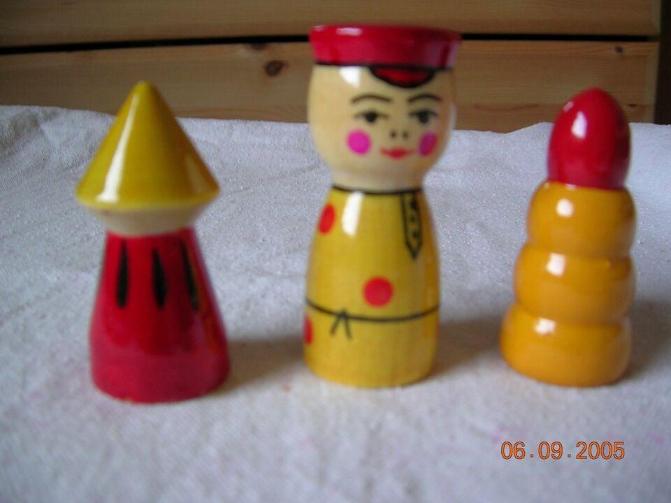 Andet legetøj, Træfigurer