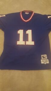 bcd4d37ed NWT Mitchell   Ness New York Giants Phil Simms 11 Royal Blue ...