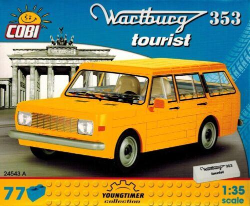 COBI 24543 A-Wartburg 353 Touriste 77 pièces 1:35