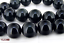 """Natural  Rainbow Eye Black Obsidian Round Loose Beads 15/"""" 4mm to 20mm AAA"""