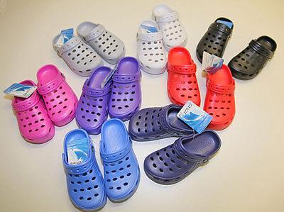 Clogs Sandale Plastik Kinder Mädchen Junge,Haus,Garten,Urlaub,Strand