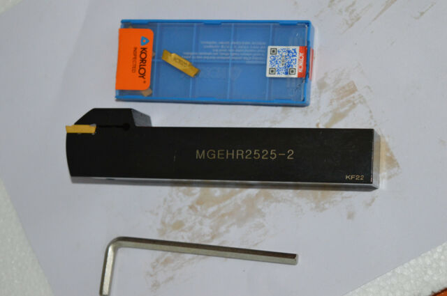 20 x125mm Lathe Grooving Cut-Off Cutter For MGMN200 2mm Width CNC MGEHR2020-2
