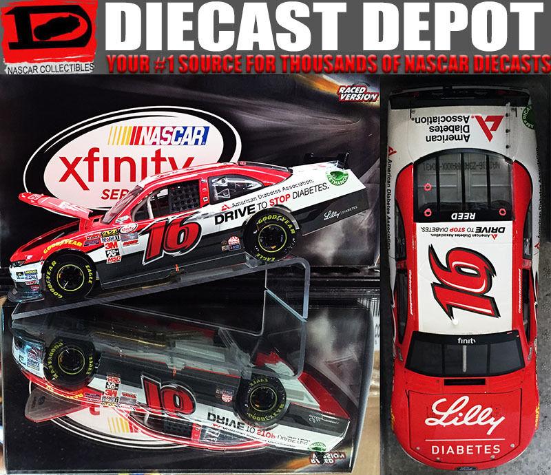 RYAN REED 2015 DAYTONA WIN RACED VERSION LILY DIABETES 1 24 ACTION GS NASCAR