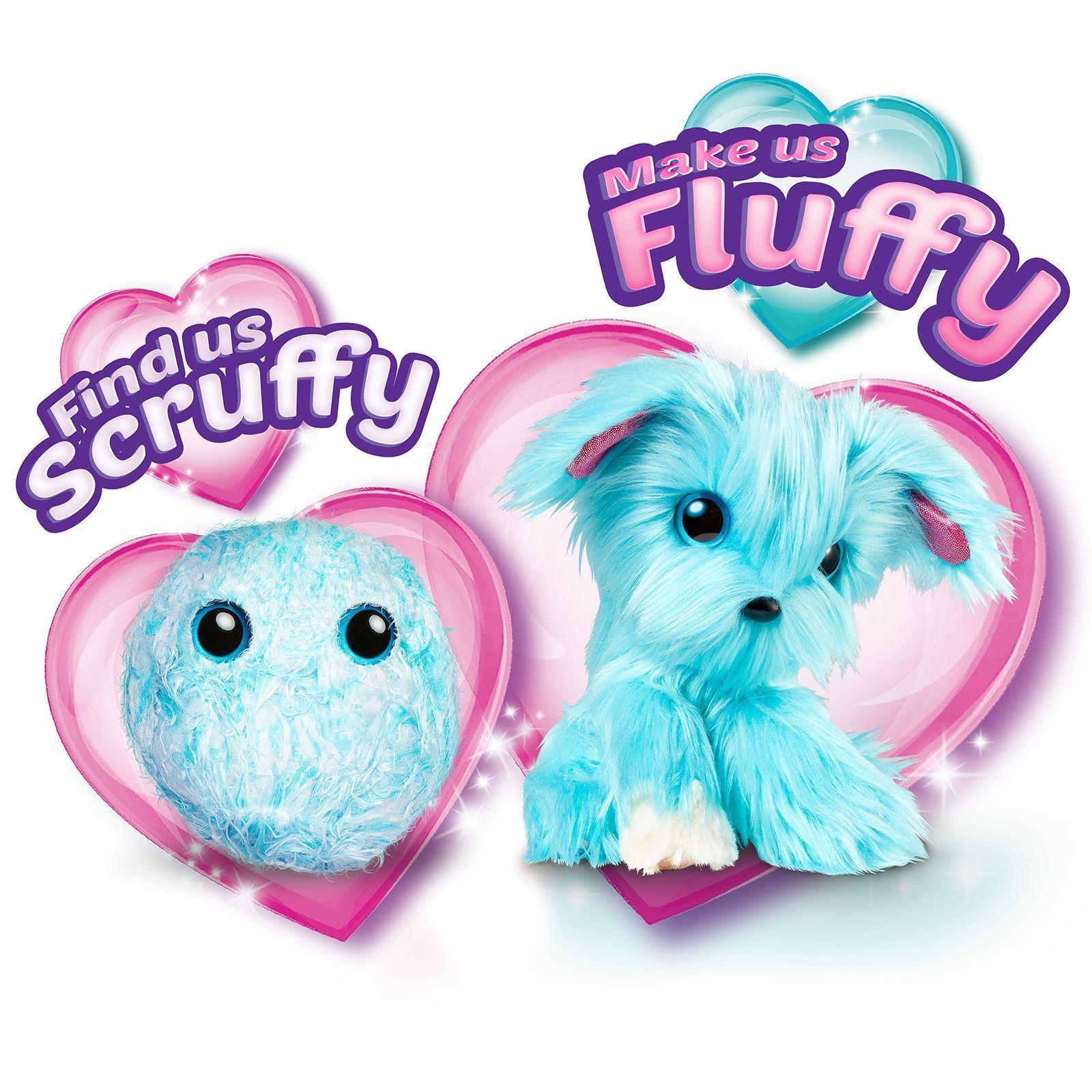 SCRUFF-A-LUVS MYSTERY RESCUE ANIMAL PET FLUFFY AQUA blueE