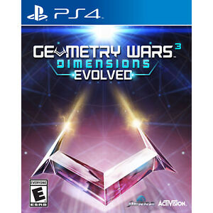 Geometry Wars 3: Dimensions Evolved PS4 [Brand New]