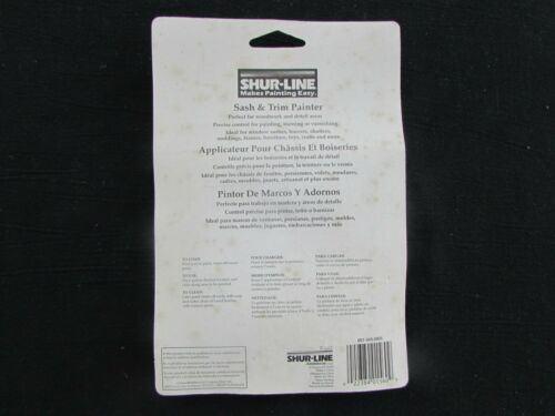 MODEL #01520 SHUR-LINE SASH /& TRIM PAINTER 2-PACK