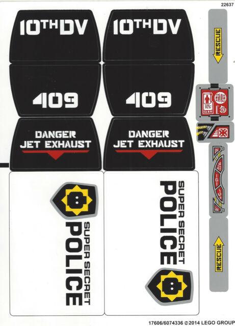 LEGO ® the LEGO ® Movie 70815 vaisseau des super-police secrète-NEUF /& OVP