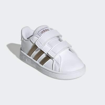 adidas grand court bambina con strappi