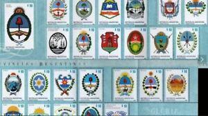 2016 Argentinien Briefmarken zweihundertjähriges PACK im Ordner MNH