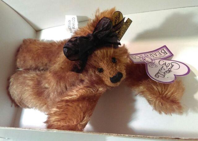 Bears Annette Funicello Razzbeary Blizzard Mohair Bear Bean Bag Collection Great Varieties Dolls & Bears