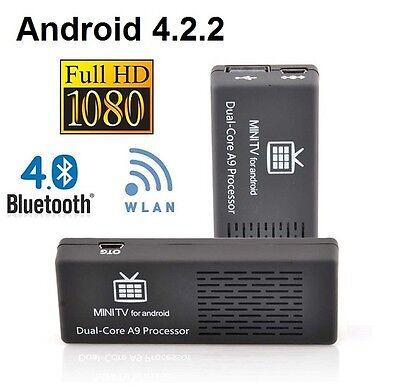 MK808-B Android 4.2.2 MINI PC SMART TV BOX DUAL CORE 1.6GHz 8GB 1GB HDMI STREAM