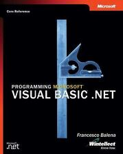 Programming Microsoft Visual Basic .NET (Core Reference) (Developer Reference) -