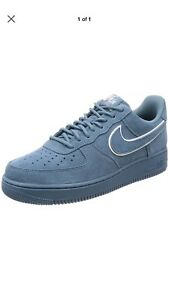 reasonable price lace up in biggest discount Details about NEW Nike Air Force 1 07 LV8 Men's Size 13 Suede Shoes Aqua  AA117 400