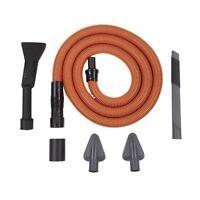 7-pc Premium Vacuum 1.25 - 2.5 Hose Accessory Vac Shop Car Extension Brush Kit