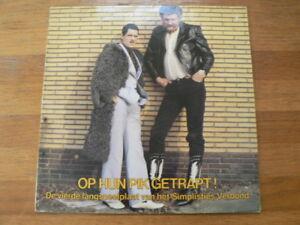 LP-RECORD-VINYL-OP-HUN-PIK-GETRAPT-VAN-KOOTEN-amp-DE-BIE-SIMPLISTIES-VERBOND