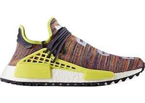 best loved 9c031 50679 Image is loading Pharrell-Multi-Color-HU-Human-Race-NMD-Size-