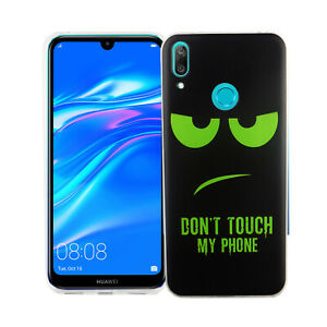 Huawei-Y7-2019-Case-Phone-Cover-Protective-Case-Bumper-Black-Size