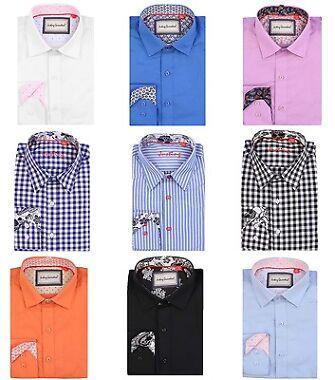 Justing Men's Long Sleeve Casual Shirt