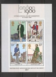 United-Kingdom-SC-874a-London-1980-International-Stamp-Exhibition-MNH